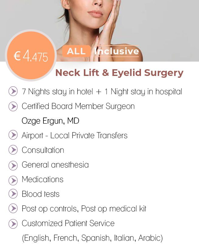 Neck-Lift + Eyelid Surgery