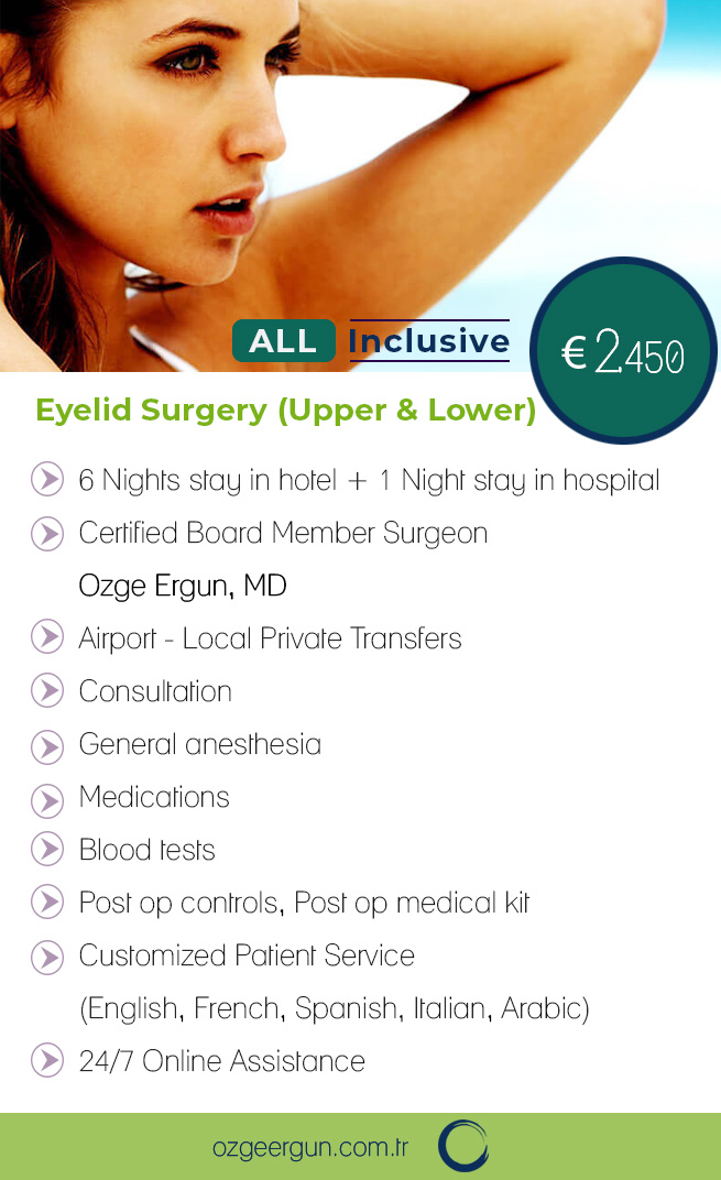 Eyelid Surgery Upper Lower Package