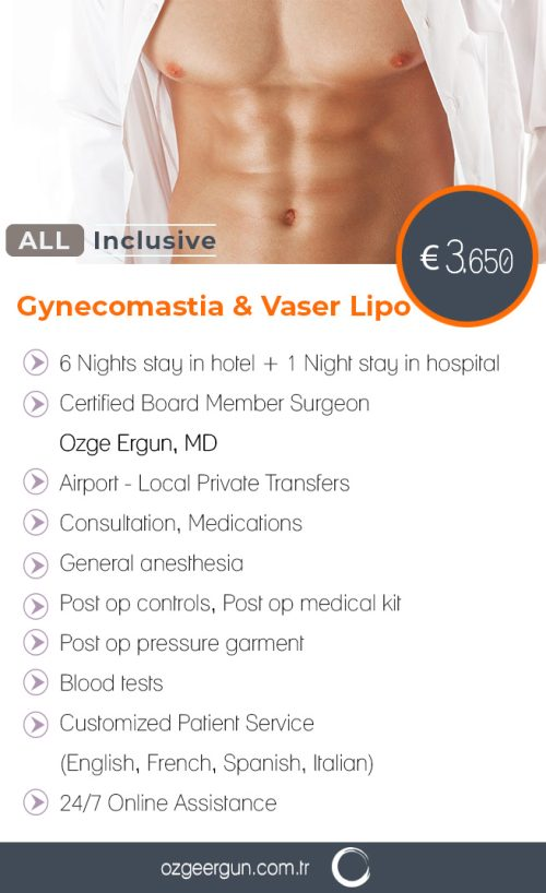 Gynecomastia Vaser Liposuction All Inclusive