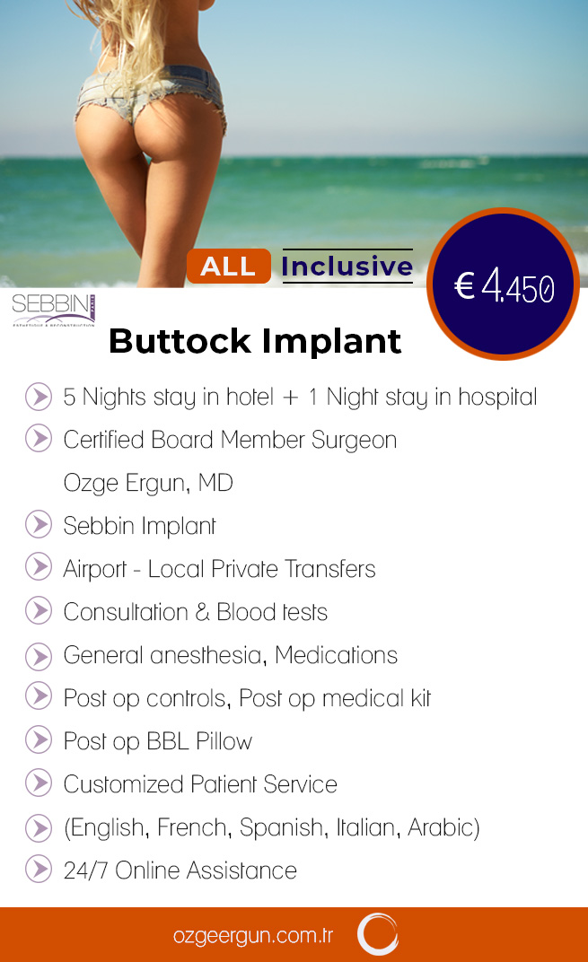 Buttock Implant All Inclusive Pack