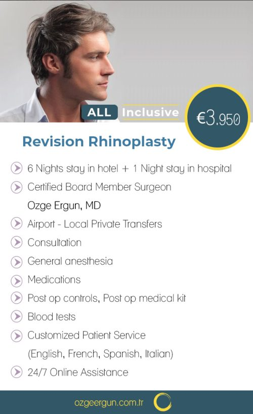 Revision Rhinoplasty Man All Inclusive