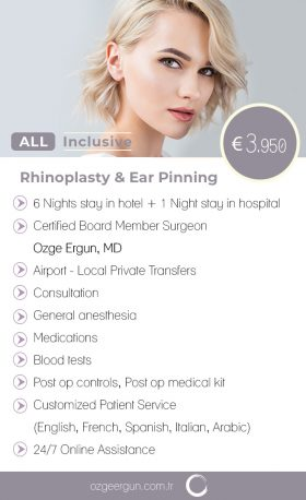 Rhinoplasty & Ear Pinning All Inclusive Package