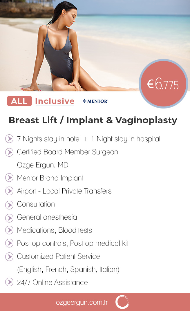 Breast Lift & Implant Vaginoplasty All Inclusive